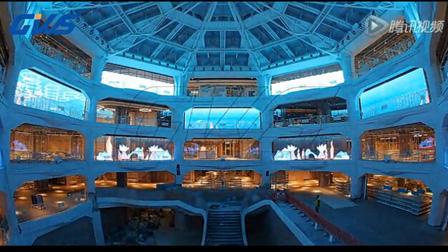 透明LED显示屏酷炫西班牙马德里PRIMARK旗舰店