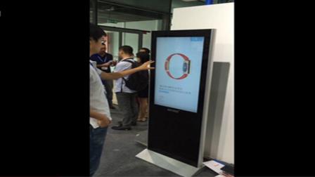 隔空触摸数字标牌,互动广告+互动游戏