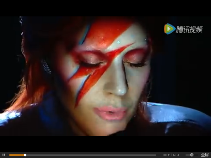 Lady Gaga x Intel脸部3D投影视觉盛宴