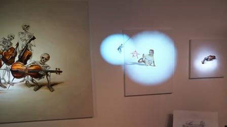 """看完这段3D投影你就会叹服 现实版""""博物馆奇妙夜""""多有趣了!"""