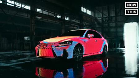 "LED灯全覆盖概念轿车 轻松打造""灯光盛宴"""