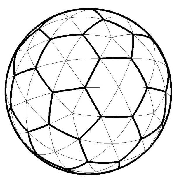 球面点阵屏
