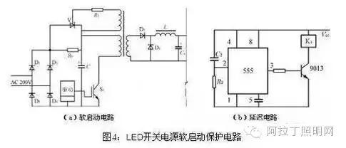 因此在大功率直流led开关电源中应该设过热保护电路