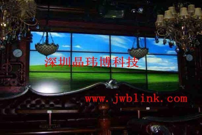 青海西宁喜喜酒吧液晶拼接电视墙_深圳市晶玮博科技