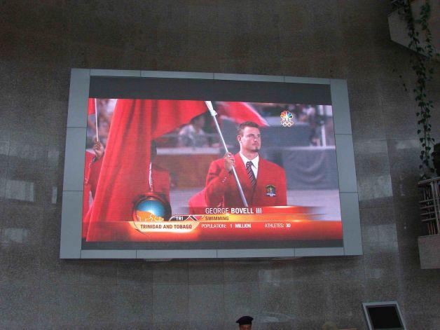 珠海香洲区政府室内LED显示屏
