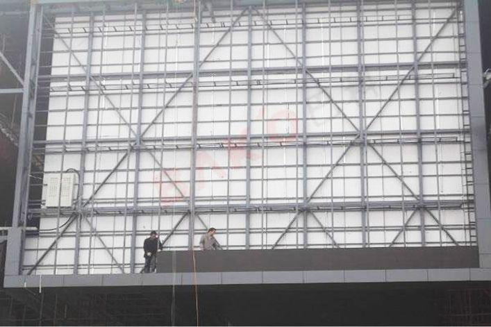 西安大雁塔南广场户外全彩led显示屏系统
