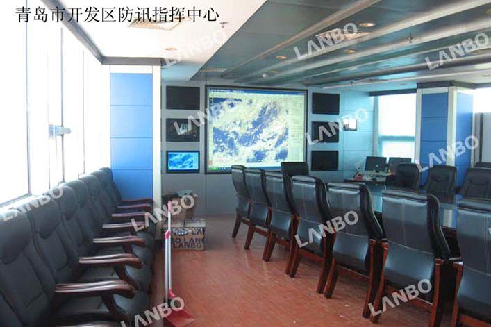 设备安装于指挥中心会议室,一般还用于会议信息及视频会议显示.