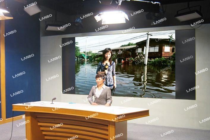电视台墙_