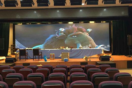 江苏连云港外国语学校室内LED显示屏