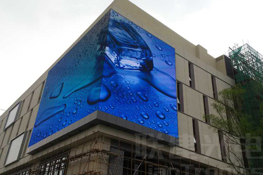 重庆罗斯福广场户外全彩LED显示屏